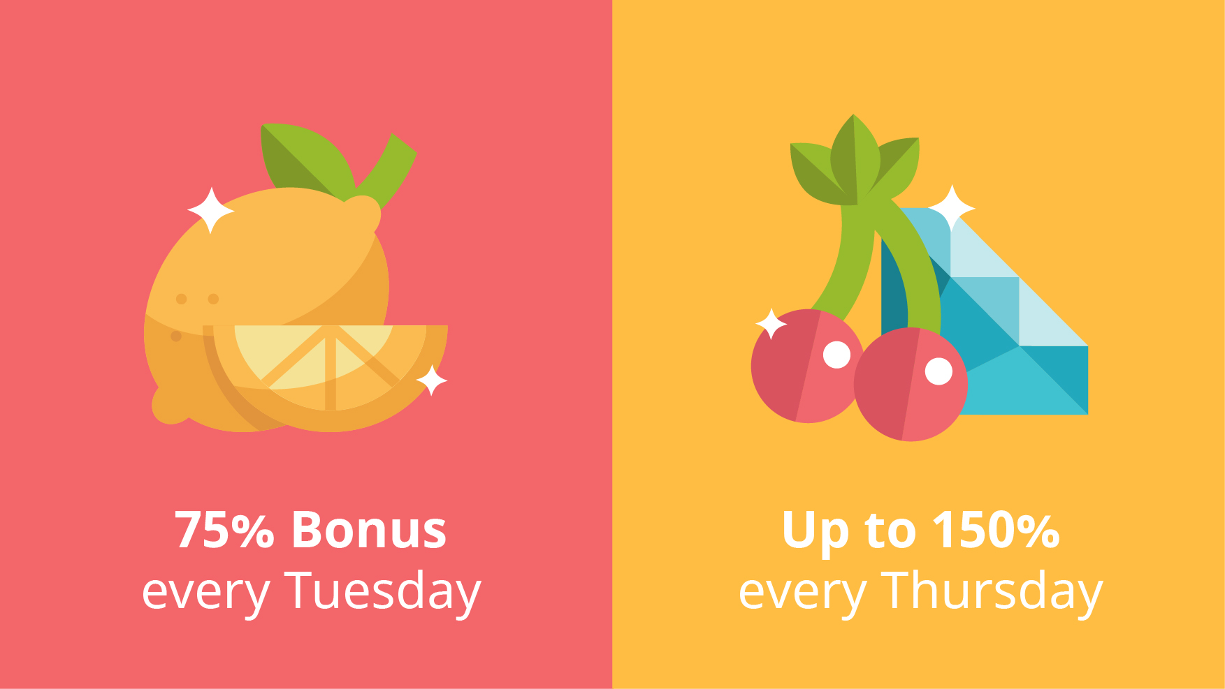 Weekly Cash Bonuses